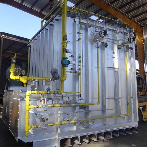 Forge industrial furnace design