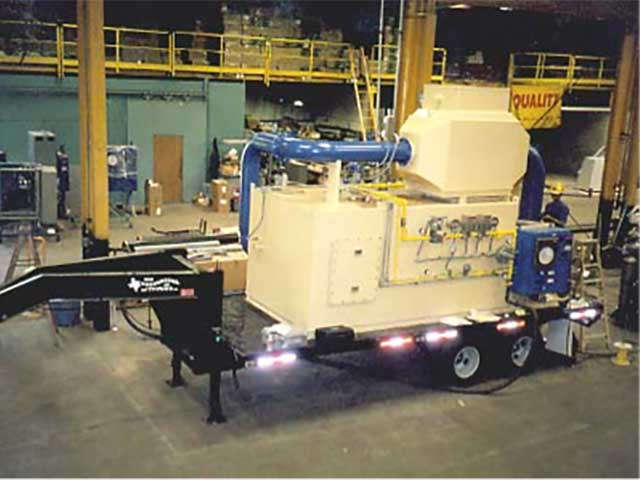 Mobile thermal oxidizers