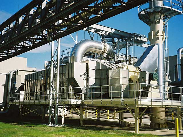 Thermal catalytic oxidizer