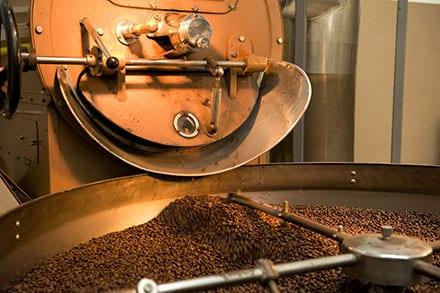 Air pollution control oxidizer for coffee roasting