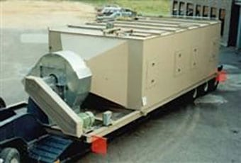 Thermal oxidizer for engineering company
