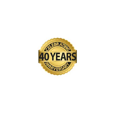 Industrial furnace company 40-year anniversary