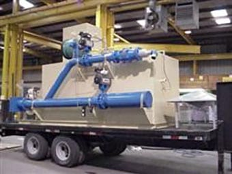 Trailer mounted oxidizer with afterburner
